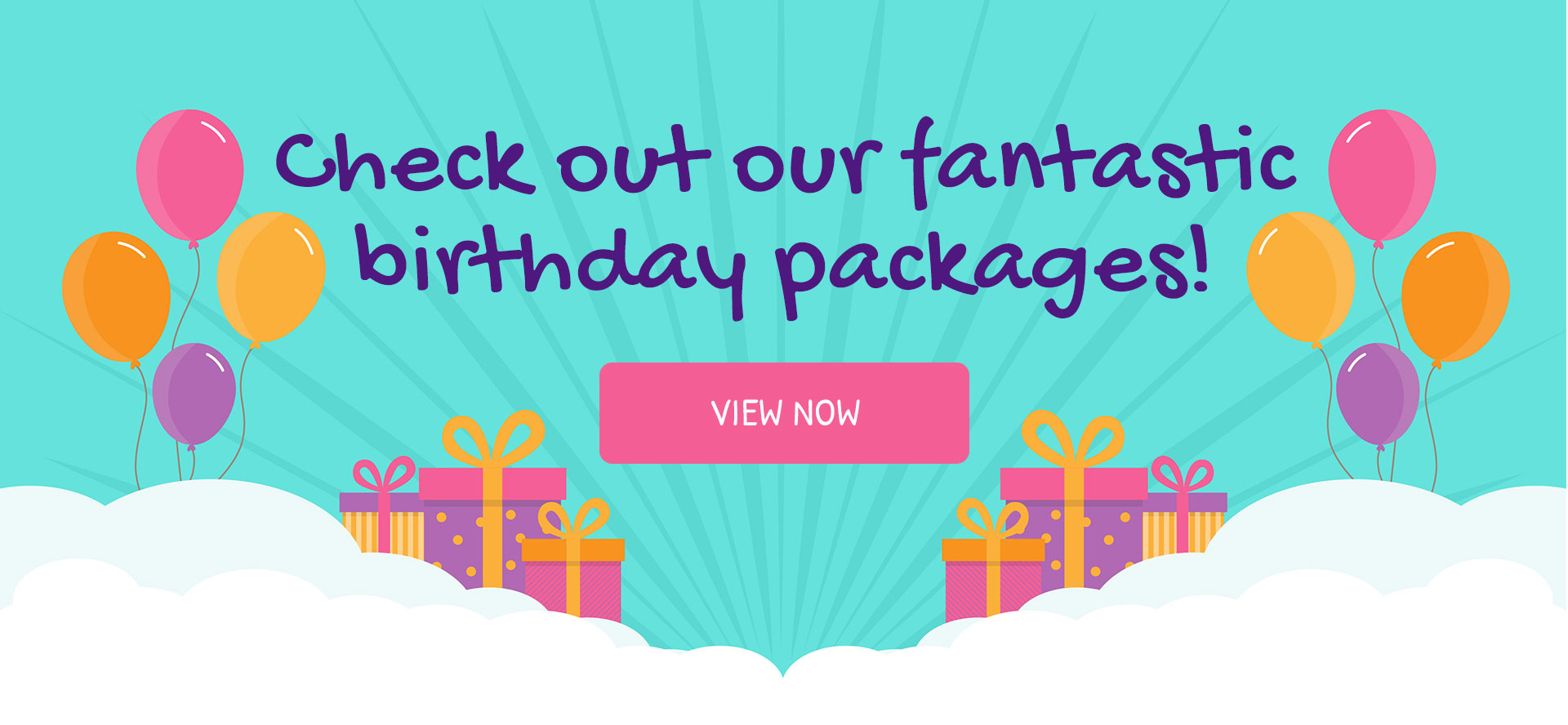 Check out our party packages