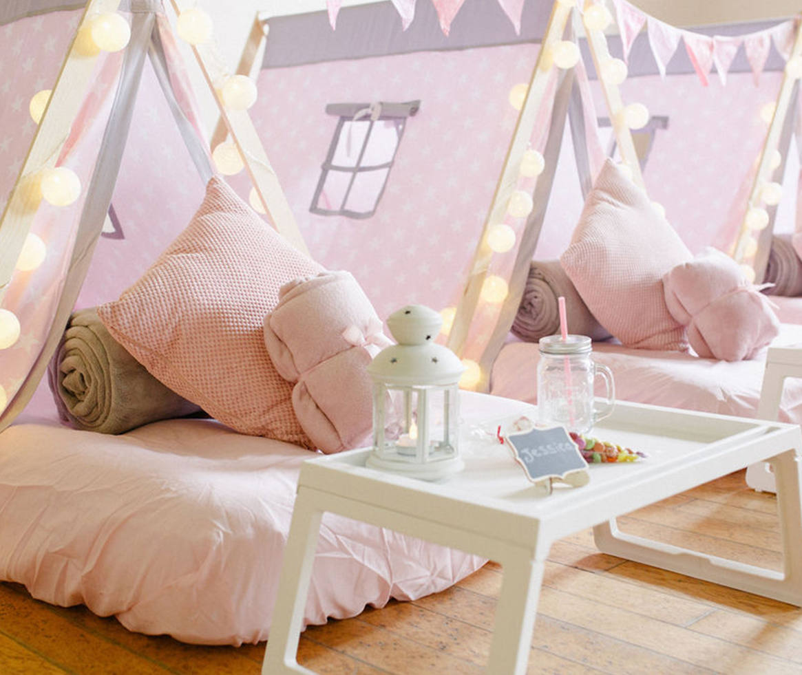 Pretty In Pink Sleepover Teepee